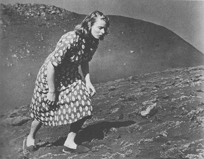Ingrid Bergman em Stromboli (1950), de Roberto Rossellini